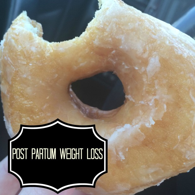 post partum weight loss