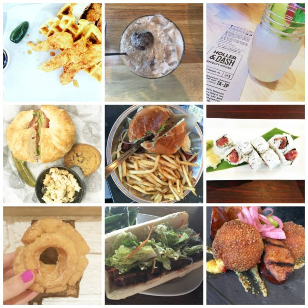 bham food collage